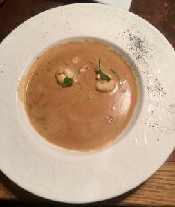 My lobster soup - Ma soupe de homard