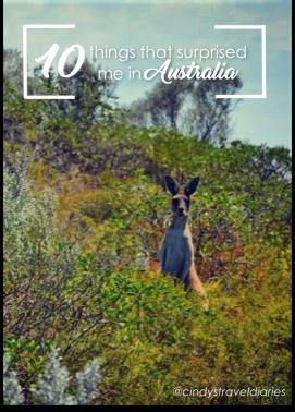 Things that surprised me in Australia