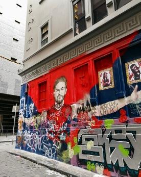 Street art Melbourne